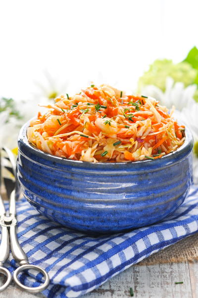 Amish Sweet and Sour Coleslaw