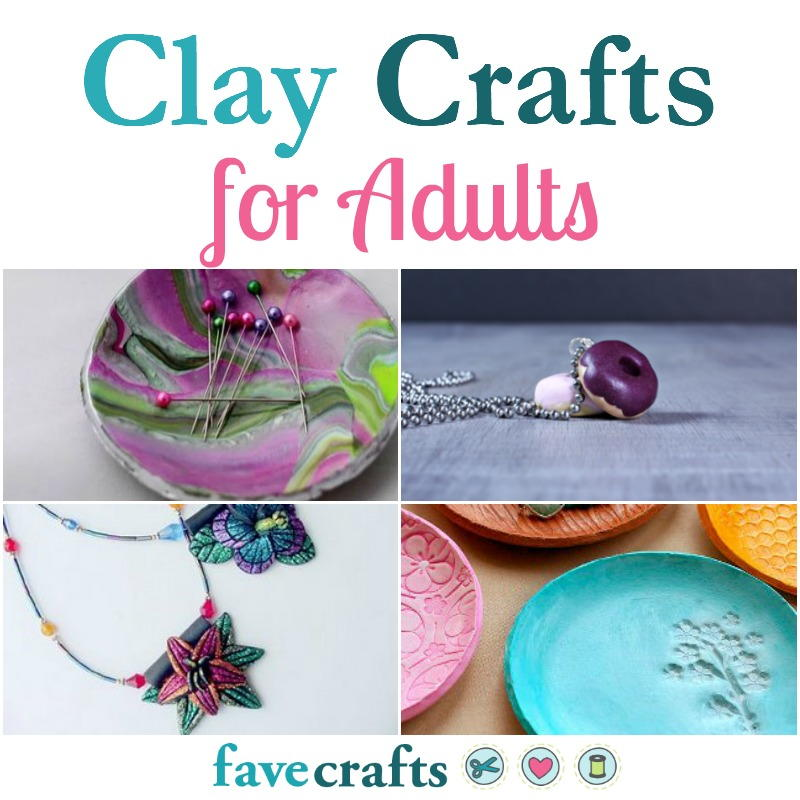 20 clay crafts for adults