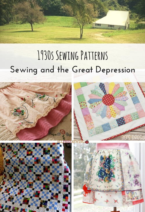 1930s Sewing Patterns Sewing and the Great Depression