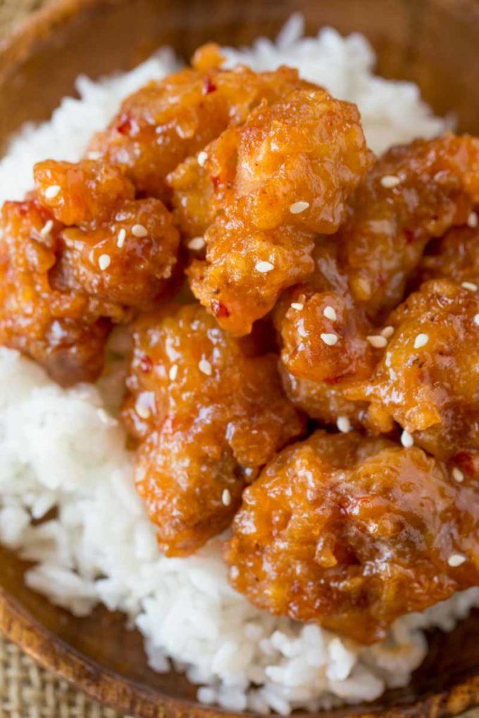 Crispy Sesame Chicken Recipelion Com