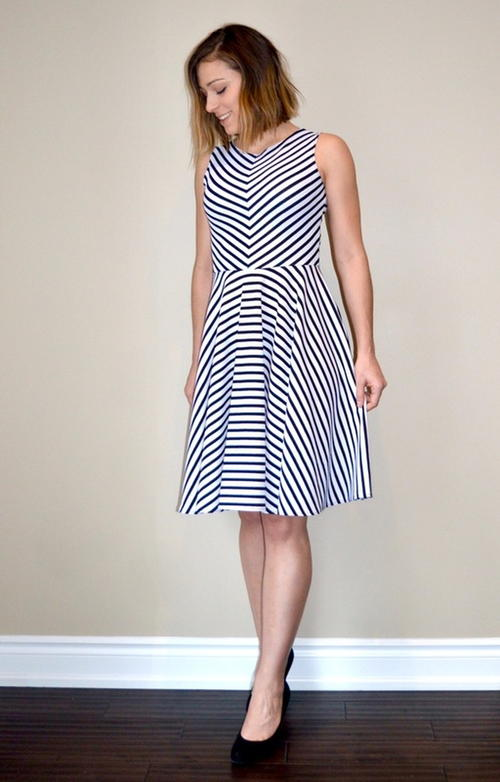 Modern Grace Dress Pattern