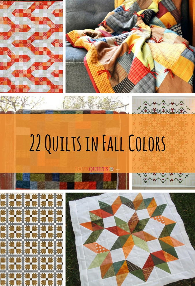22 Quilts In Fall Colors Favequilts Com