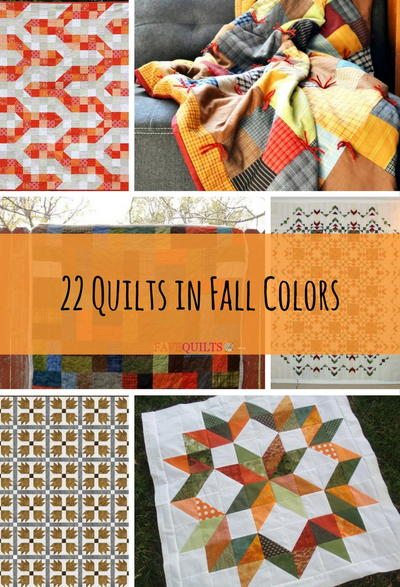 22 Quilts in Fall Colors