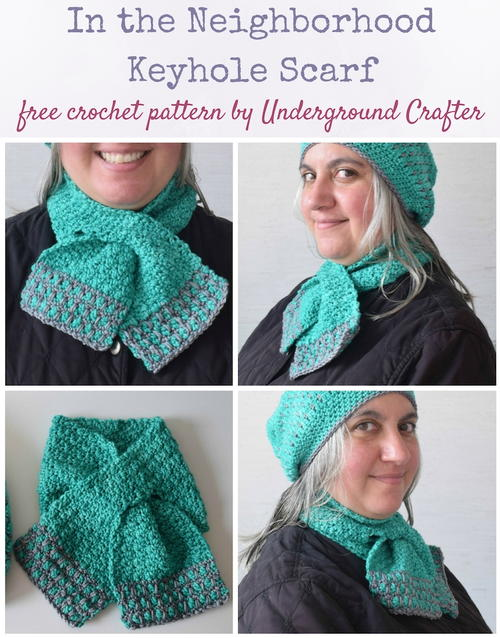 In the Neighborhood Keyhole Scarf