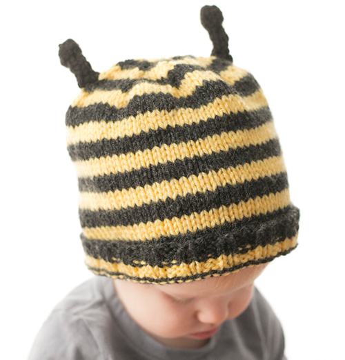 Busy Bee Baby Hat Pattern