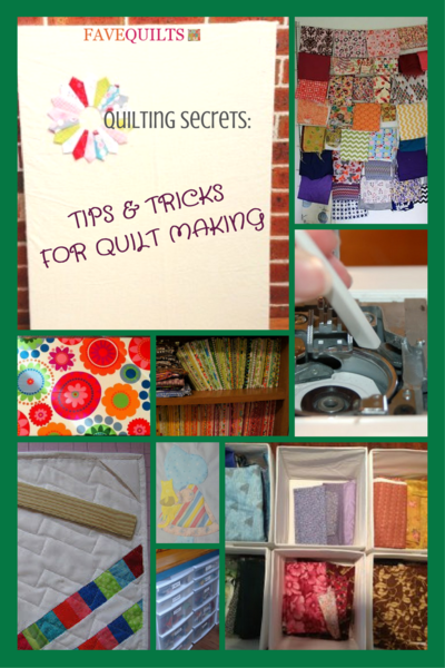 Quilting Secrets 27 Tips and Tricks for Quilt Making