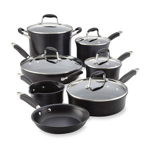 Anolon 12-Piece Advance Onyx Cookware Set