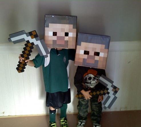 Printable Minecraft Steve Head