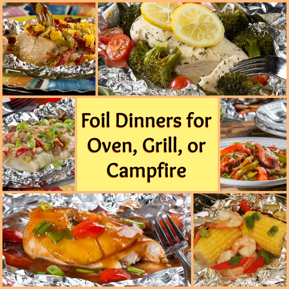 12 Easy Recipes For Camping: Hamburger Foil Packet Recipes For Campfire