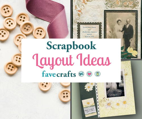 Scrapbook Layout Ideas