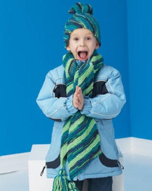 Good Childrens Hat Scarf Knitting Pattern Hat 6536c 54271