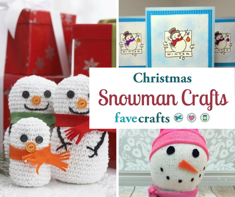 74 Christmas Snowman Crafts for Adults FaveCrafts