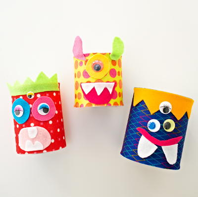 Adorable Tin Can Monsters