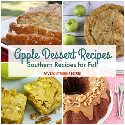 25 Apple Dessert Recipes Southern Desserts for Fall