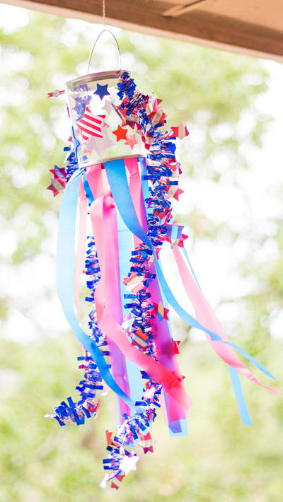 Patriotic Labor Day Windsocks