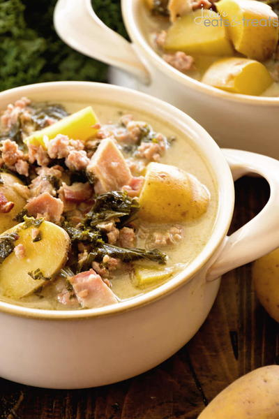Lighter Olive Garden Zuppa Toscana Recipe