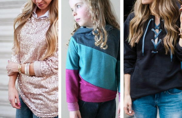 59b7a153e DIY Sweatshirt Ideas: 36 Tutorials for How to Make a Hoodie and More |  AllFreeSewing.com