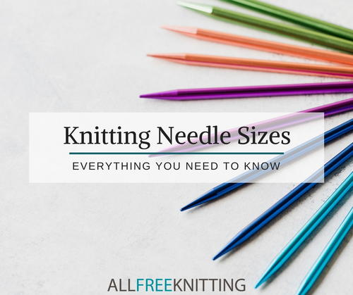Knitting Needle Conversion Chart: Everything You Need To