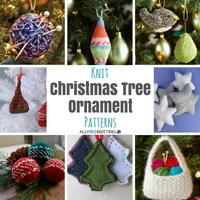 27+ Knit Christmas Tree Ornament Patterns