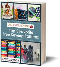 Top 5 Favorite Free Sewing Patterns eBook