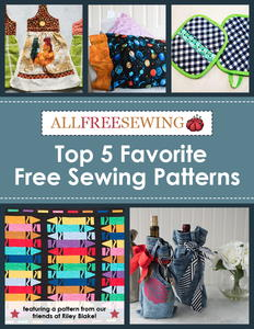 Top 5 Favorite Free Sewing Patterns free eBook