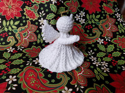 Darling Crochet Christmas Angel Pattern