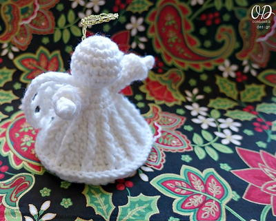 Crochet Angel Ornament