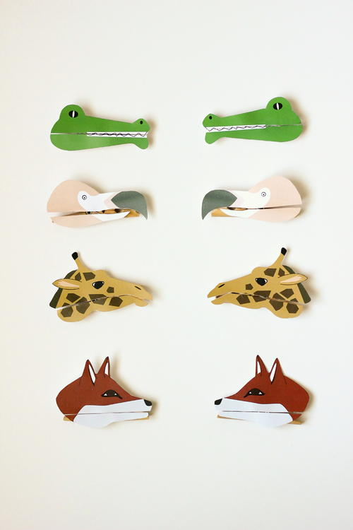 Clothespin Puppet Animal Craft