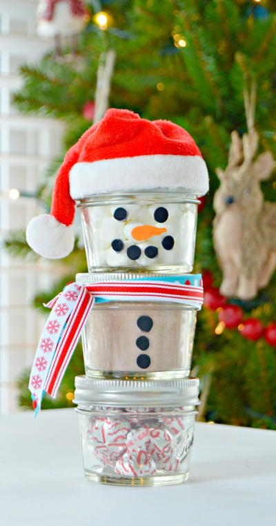 Cozy Canned Cocoa Snowman