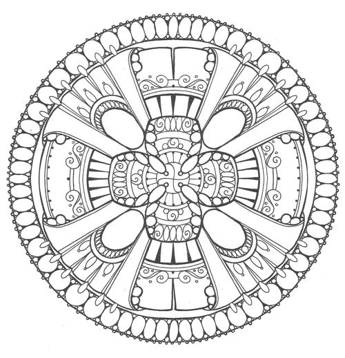 emperors festival adult coloring page - Adult Coloring Book Pdf