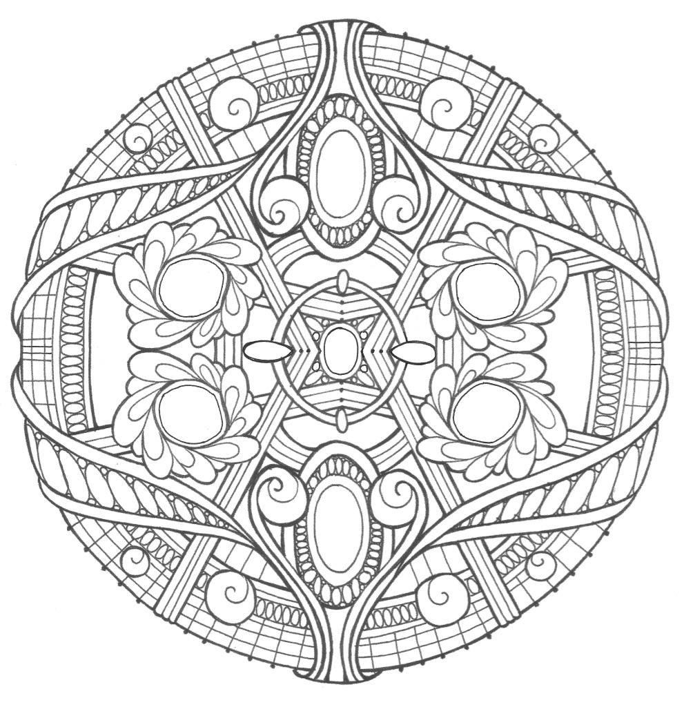 It's just a graphic of Smart Free Printable Mandala Coloring Pages