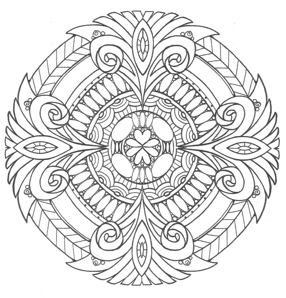 Download Pure Royalty Adult Coloring Page | FaveCrafts.com