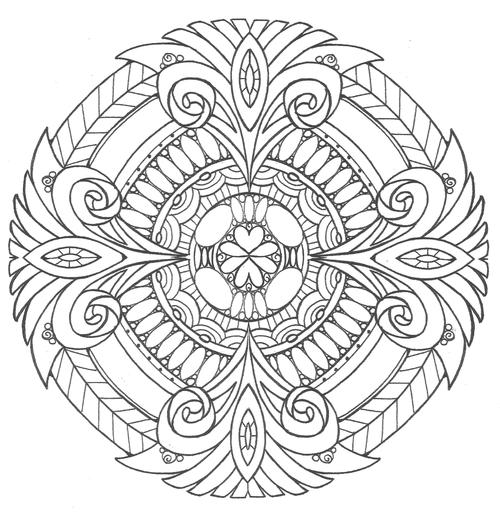 Pure Royalty Adult Coloring Page
