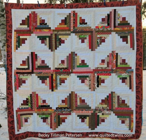 Autumn ZigZag Quilt Pattern