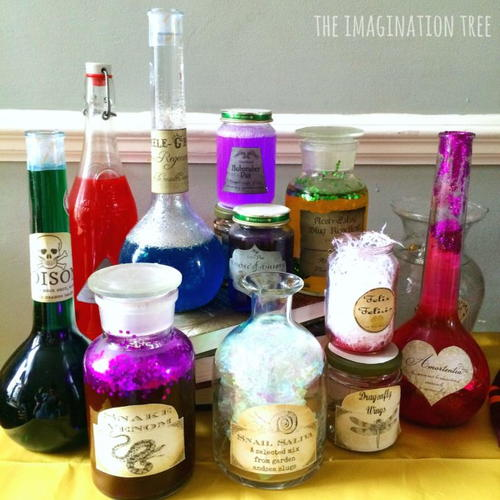 Fizzy Harry Potter Potions