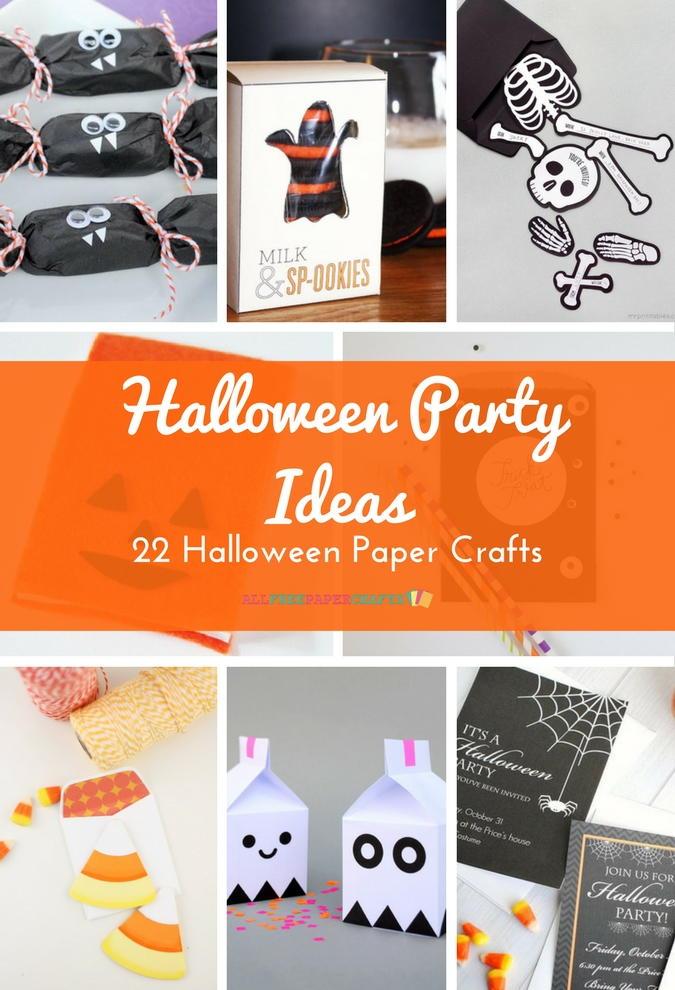 Halloween paper crafts 11 homemade halloween decorations halloween party ideas 22 halloween fandeluxe PDF