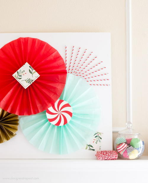 Decorative Candy Paper Craft