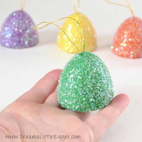 Giant Cheerful Gumdrop Ornaments