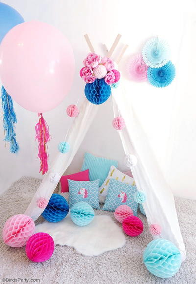 Cute Teepee Party Craft