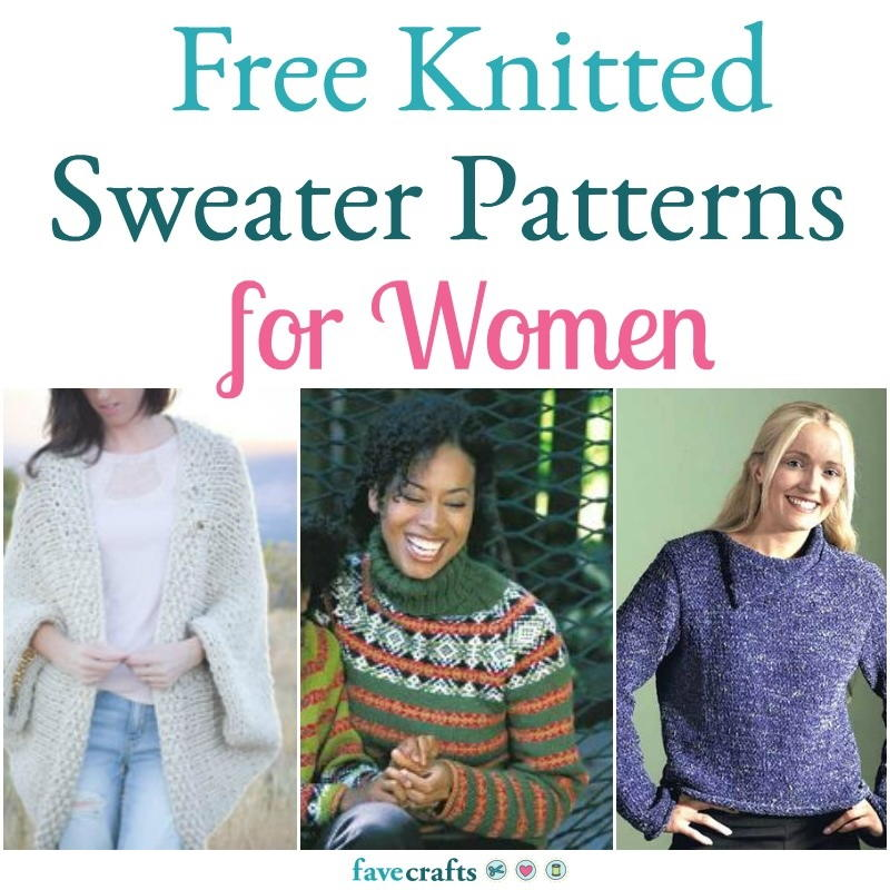 25 Free Knitting Patterns For Women S Sweaters