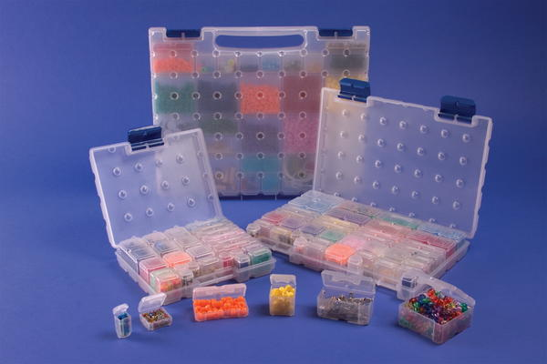 Cottage Mills Dot Box Bead Storage