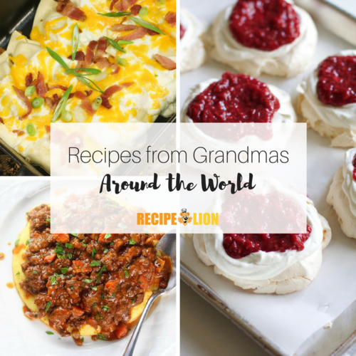 Recipes from Grandmas Around the World
