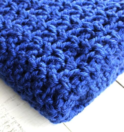 Crochet V Stitch Lapghan Allfreecrochetcom