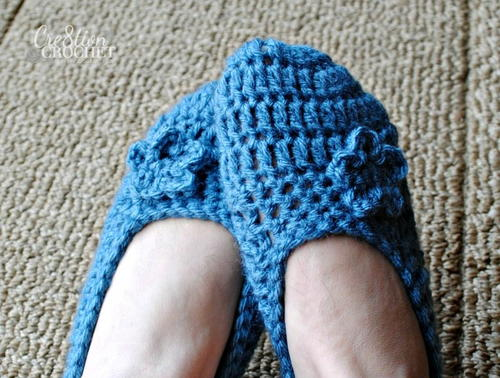 The Best Blue Slippers