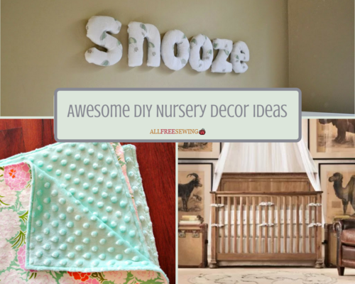 13 Awesome DIY Nursery Decor Ideas