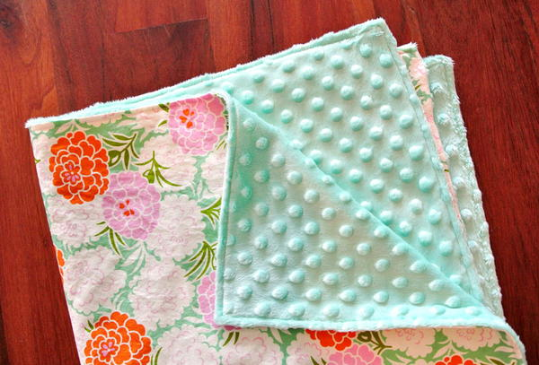 Suzy Quilts Baby Blanket