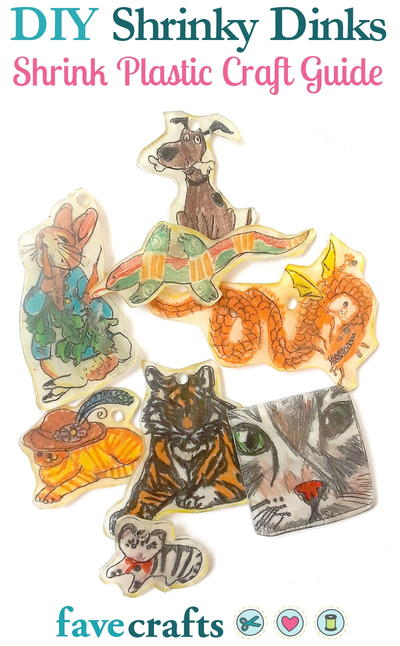 Diy Shrinky Dinks A Shrink Plastic Craft Guide Favecrafts Com