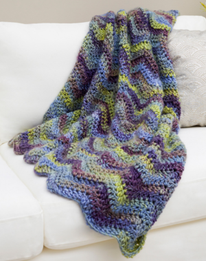 Make Waves Bulky Blanket