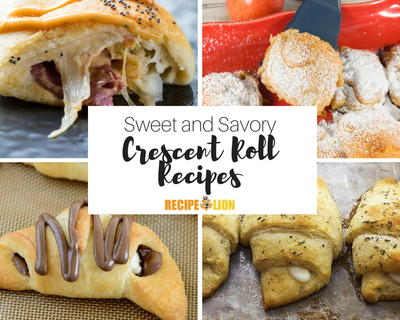 Easy Recipes Using Crescent Rolls