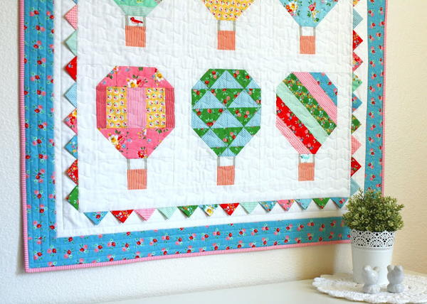 Woodberry Way Hot Air Balloon Quilt